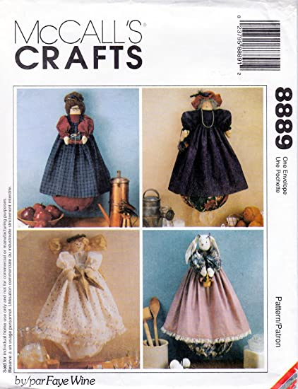 Amazon McCalls Crafts 60 Craft Pattern Plastic Bag Holders Fascinating Mccalls Craft Patterns
