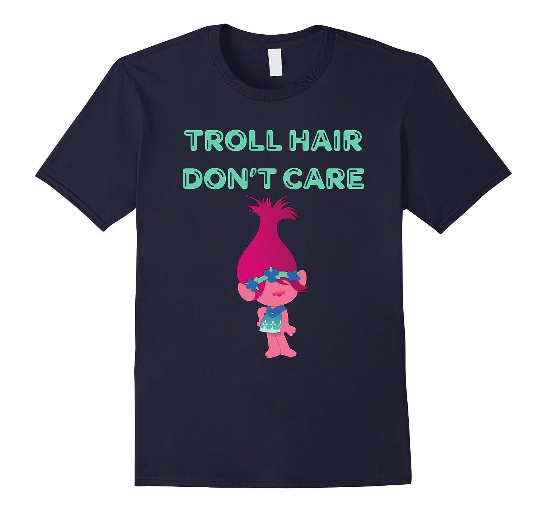 Mens Troll Hair Tshirt Purple-Xalozy