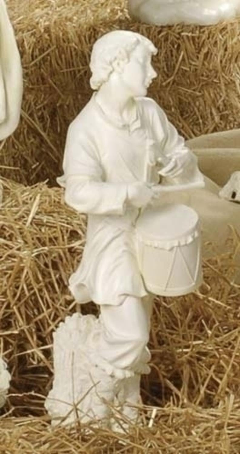 27'' Joseph's Studio Drummer Boy Outdoor Christmas Nativity Statue