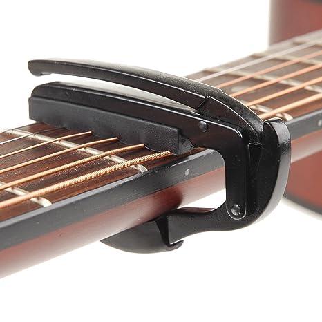 Guitarra Cejilla kcopo abrazadera guitarras Tune Clip Accesorios ...