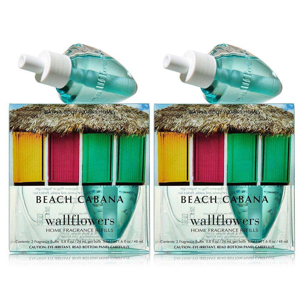 Bath and Body Works Wallflowers 4-Pack Refills (Beach Cabana)