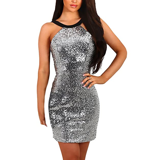 uk availability 32178 435ef HX fashion Abiti Donna Eleganti da Corto Eleganti Abito ...