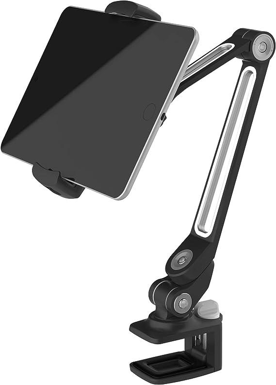 Support Tablette Voiture,POMILE Universel Support pour Tablette et iPad 4.7~12,9 pouces,iPad Pro Air Mini iPhone XS Max XR X 8 7 6 Plus Samsung Galaxy S9 S8
