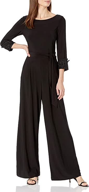 Fubotevic Womens Short Sleeve Casual Loose Fit Button Down Wide Leg Solid Jumpsuit Romper