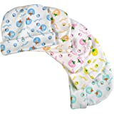 Brim Hugs And Cuddles Printed Cotton Caps for Baby Boys and Girls(Pack of 5)