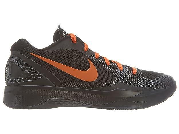 more photos 7051a 3a3ae Amazon.com   Nike Zoom Hyperdunk 2011 Low Black Orange Linsanity Jeremy Lin  Knicks 487638-081  US size 12    Shoes