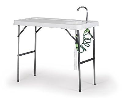 Amazon.com: Organizado pesca plegable mesas para cocinas o ...