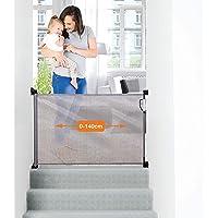 Dreambaby® G9781BB (0-140cm) - Barrera de Seguridad Extensible/Retráctil
