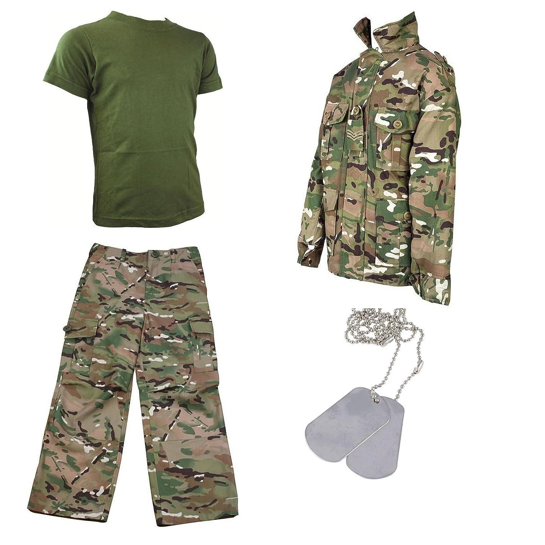Kids Pack 5 Hmtc Mtp Multicam Match Camo Pants Shirt T Shirt