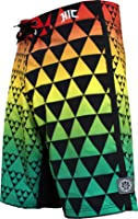 "HIC 21"" Tiburon Shark 8 Way Octo Super Stretch Boardshorts"