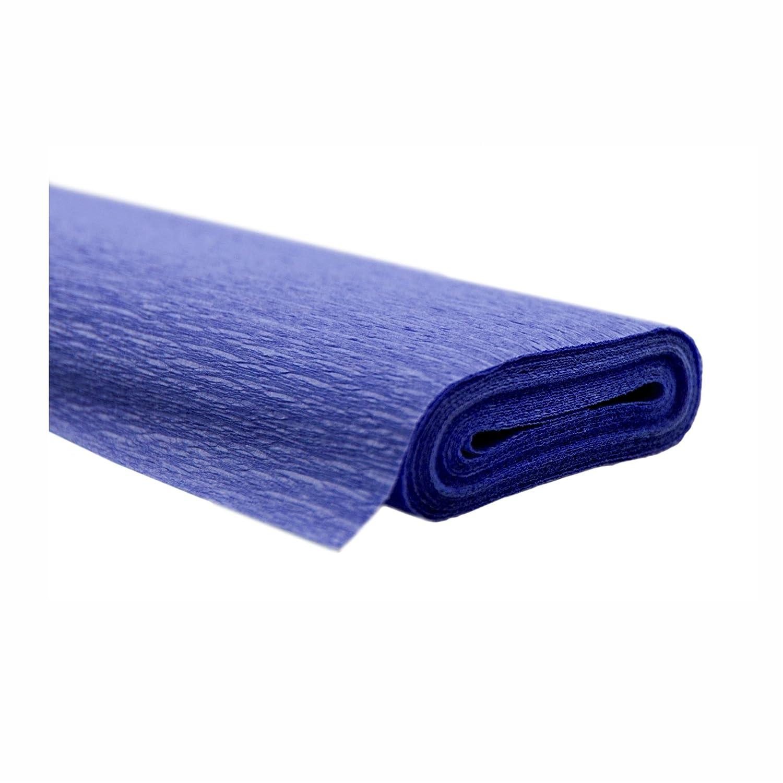 Creleo 79147110rotoli carta crespa, 50x 250cm–blu–impermeabile Flash Trendstyle Retail