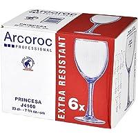 Arcoroc Princesa - Copa para vino 230ml, sin