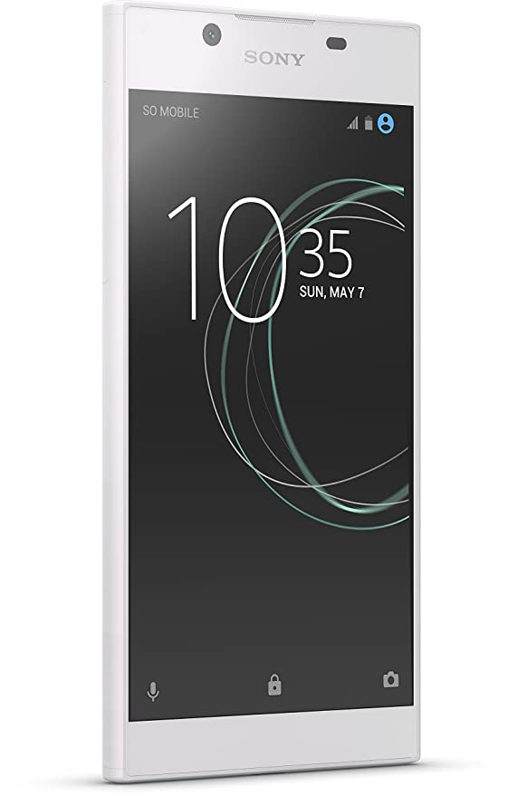 Sony Xperia L1 Smartphone (14 cm (5,5 Zoll) Display, 16 GB Speicher, Android 7.0) Weiß