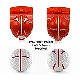 Golf-EZ Golf Ball Marker Line Drawing Alignment
