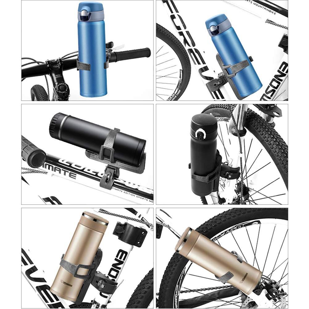 Bicycle Bottle Holder PVC Bottle Rack Barcket for Mountain Bike Road Bike Bicycle Bottle Holder PVC Bottle Rack Barcket for Mountain Bike Road Bike White VGEBY Water Bottle Cage