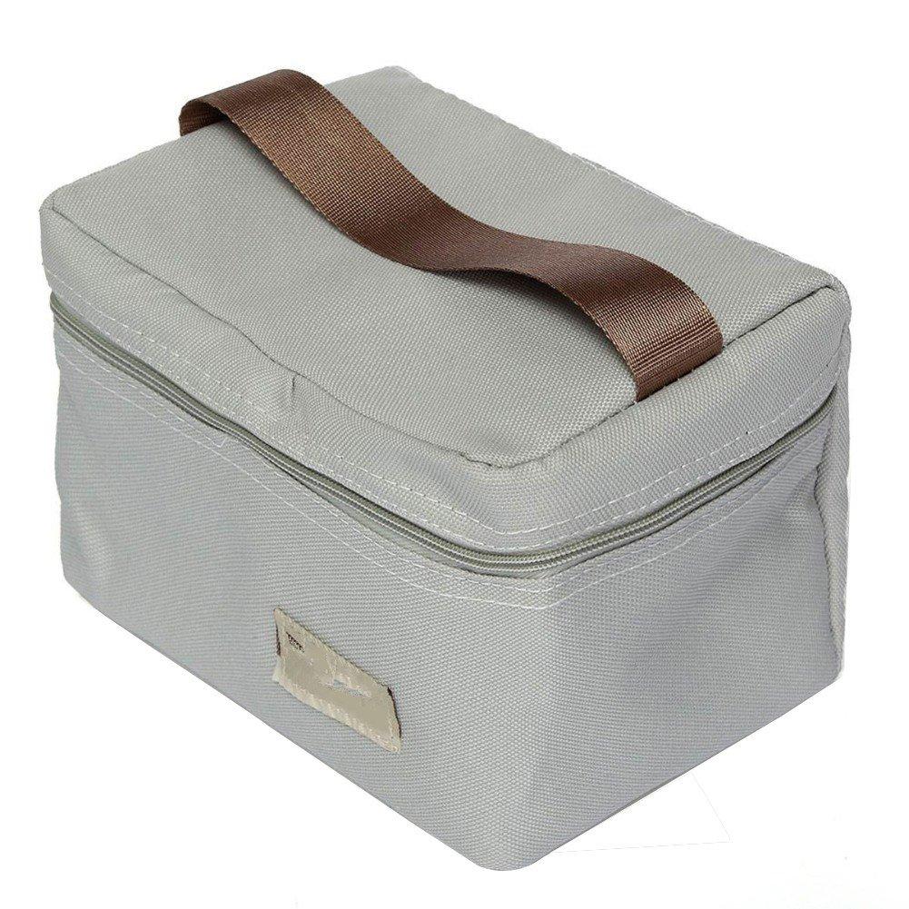 Itemer Fashion termica da picnic lunch bag Tote Storage borsa termica per campeggio, shopping, palestra, viaggio, picnic (verde)