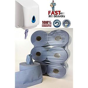 Papernet 409936 HYTECH Plastic Dispenser White C//V-folded Hand Towel