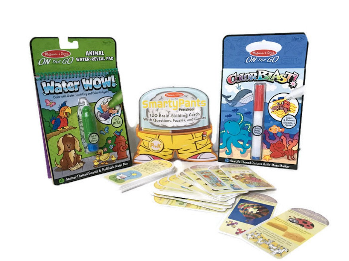 Basic Learning Skills Pre-school Travel Bundle for ages 3+ by Keedzi