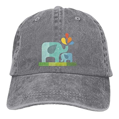 XF-Caps Gorra de Beisbol Unisex Elephant Baby and Its Father ...