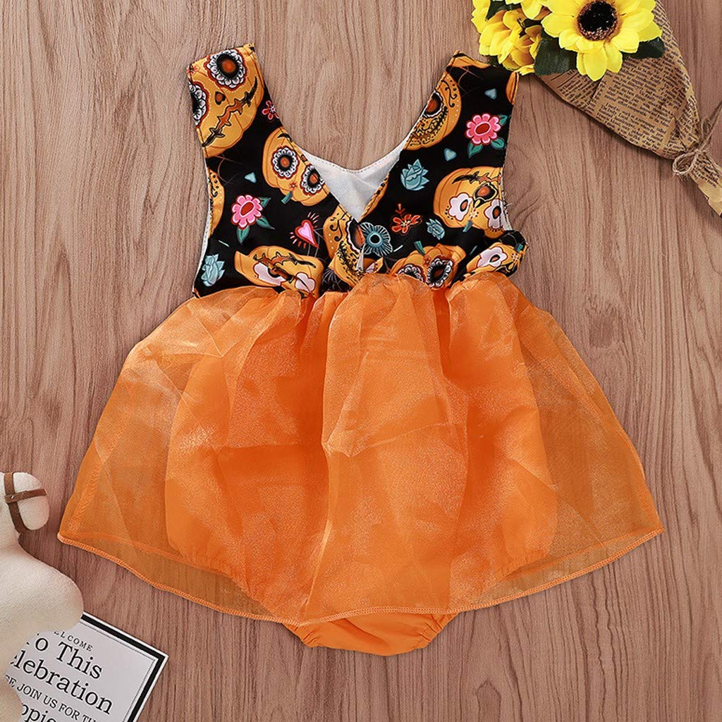 Livoral Baby Jungen M/ädchen Kapuzenpulli Hosen Trainingsanzug Hoodie Outfits Set Halloween Kleidung 0-24Month