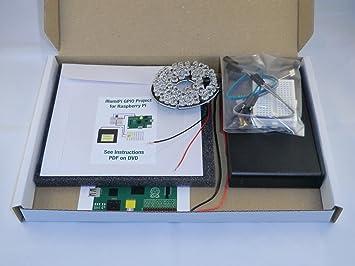 Kit de iluminación LED de infrarrojos para Raspberry Pi. Compatible con pinoir cámara. A