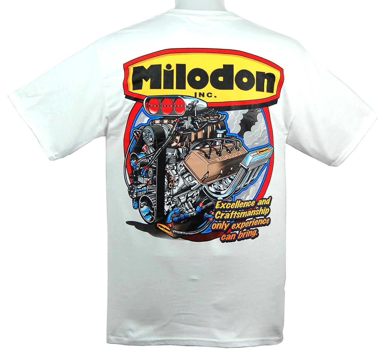 Milodon 90086 Hemi White XXX-Large T-Shirt