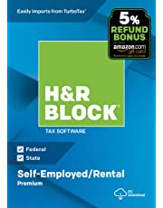 H&R Block Tax Software Premium 2018 with 5% Refund Bonus Offer [Amazon Exclusive] [PC Download]