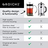 GROSCHE Madrid French Press Coffee Maker and Tea