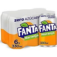 Fanta Naranja Zero Azúcar Lata - 330 ml