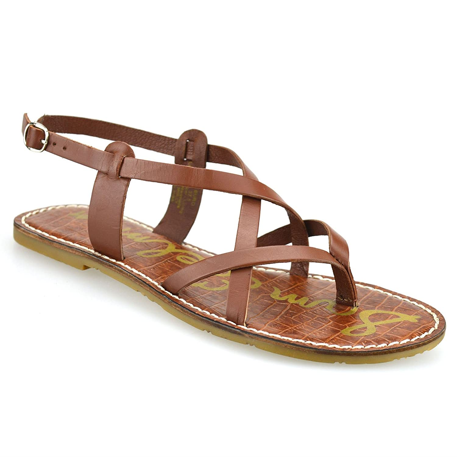 f1fb053f2d7 Ladies Womens Flat Heel Leather Ankle Strap Summer Gladiator Sandals Shoes  Size UK 5