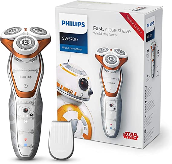 Philips Star Wars Episodio VIII SW5700/07 - Afeitadora eléctrica ...