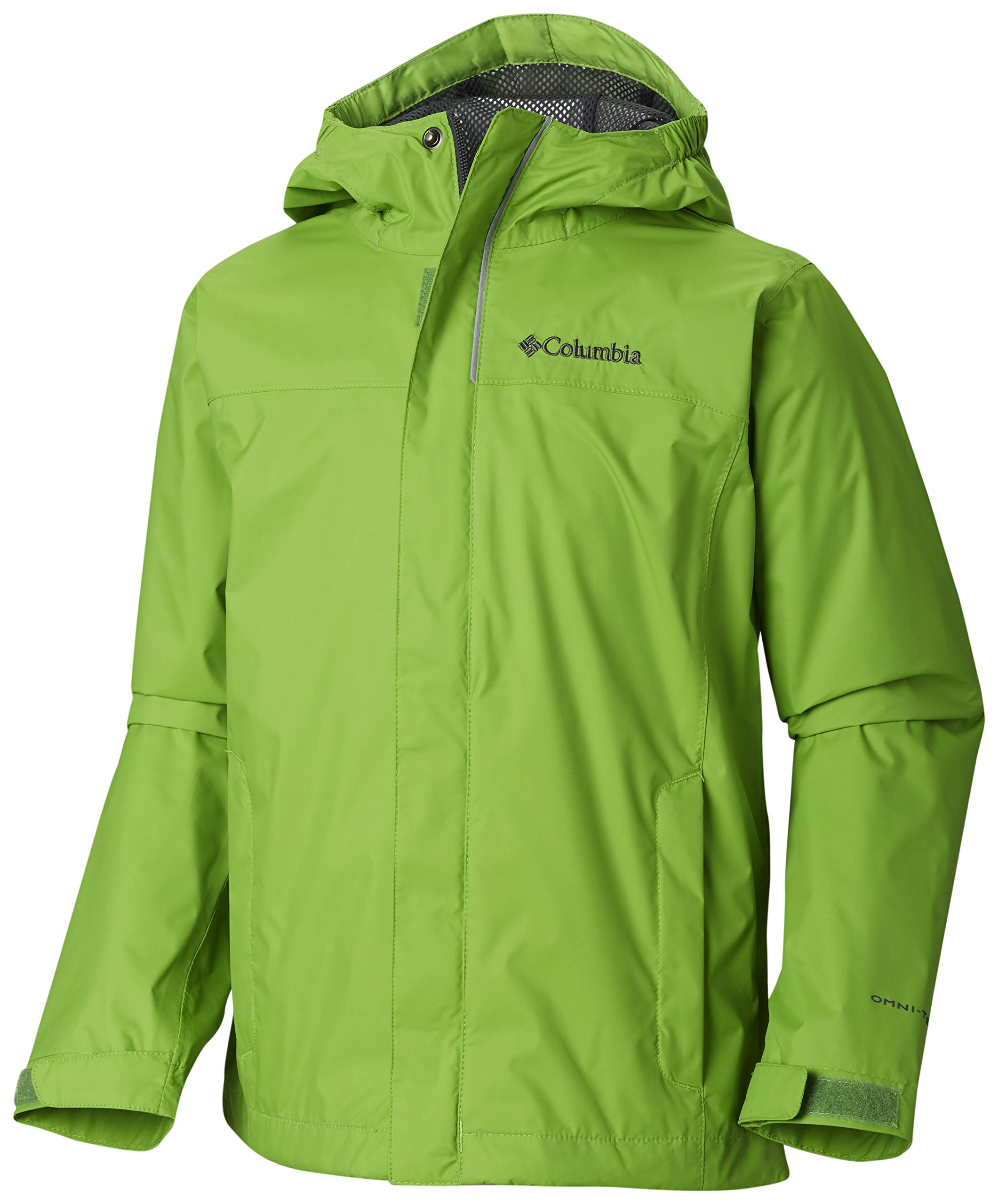 Columbia Boys' Big Watertight Jacket, Cyber Green, Medium