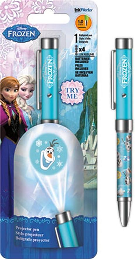 Disney Frozen Olaf Snowman - Bolígrafo de proyector: Amazon.es ...