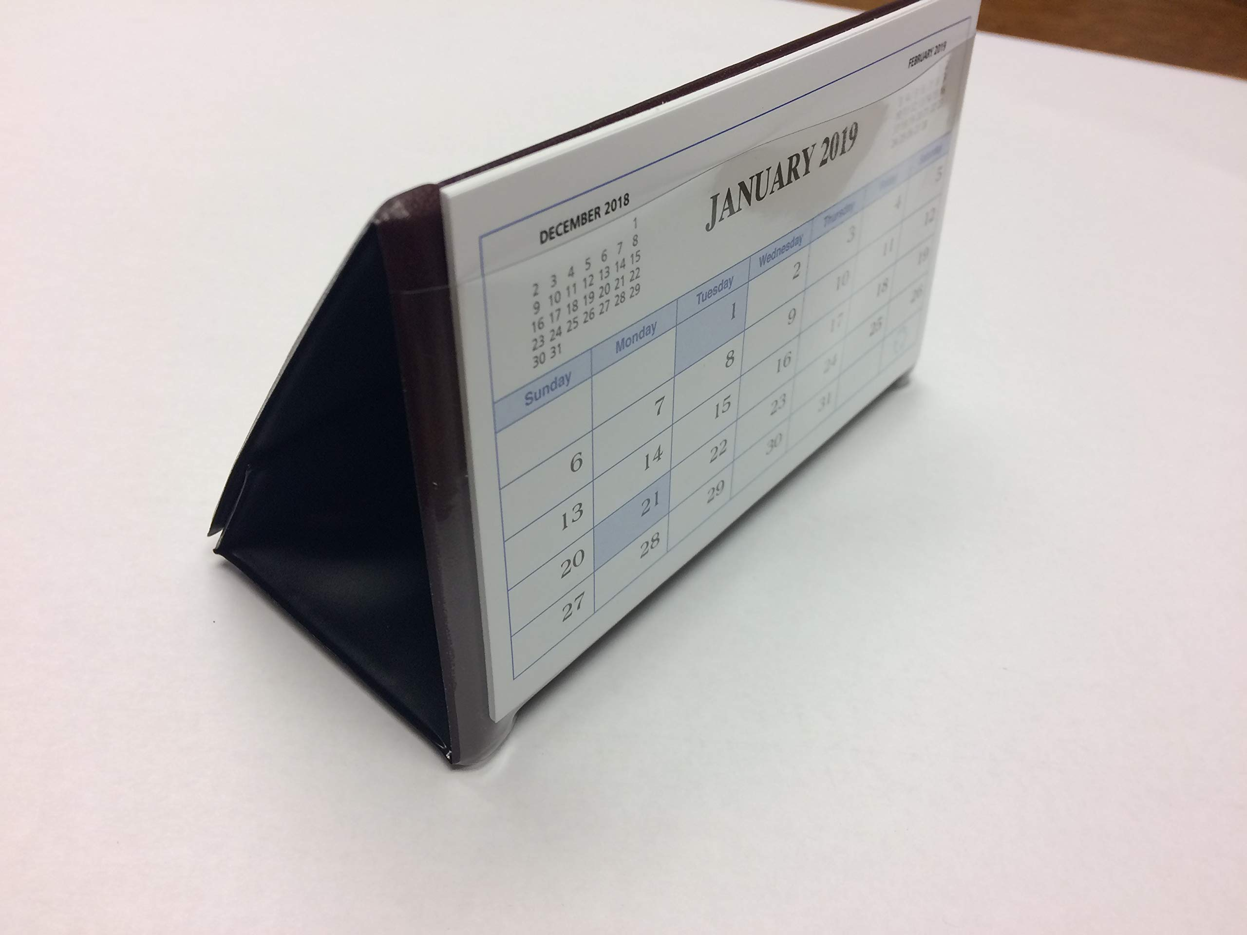 Payne Publishers Triangle Desk Calendar 5 1/2'' x 3 1/8'' DDC3 (Black)