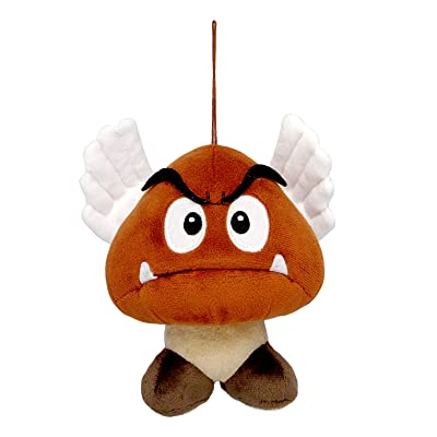 "Sanei Super Mario All Star Collection AC23 Paragoomba 5.5"" Plush: Toys & Games"