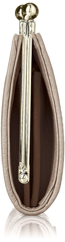 5ab3fb58244a Amazon   [クレイサス] ミスティー がま口長財布 186881 ベージュ   CLATHAS(クレイサス)   財布