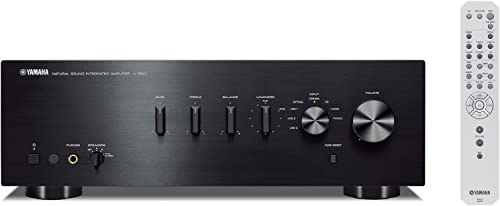 Yamaha A-S501BL Natural Sound Integrated Stereo Amplifier – Black Renewed