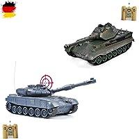 Batlle Juego 2x German Leopard RC 2.4GHz Mini