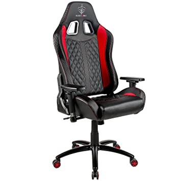 BLUE SWORD Carbon Fiber Computer Gaming Chair Large Size Office Chair  Racing Style High Back