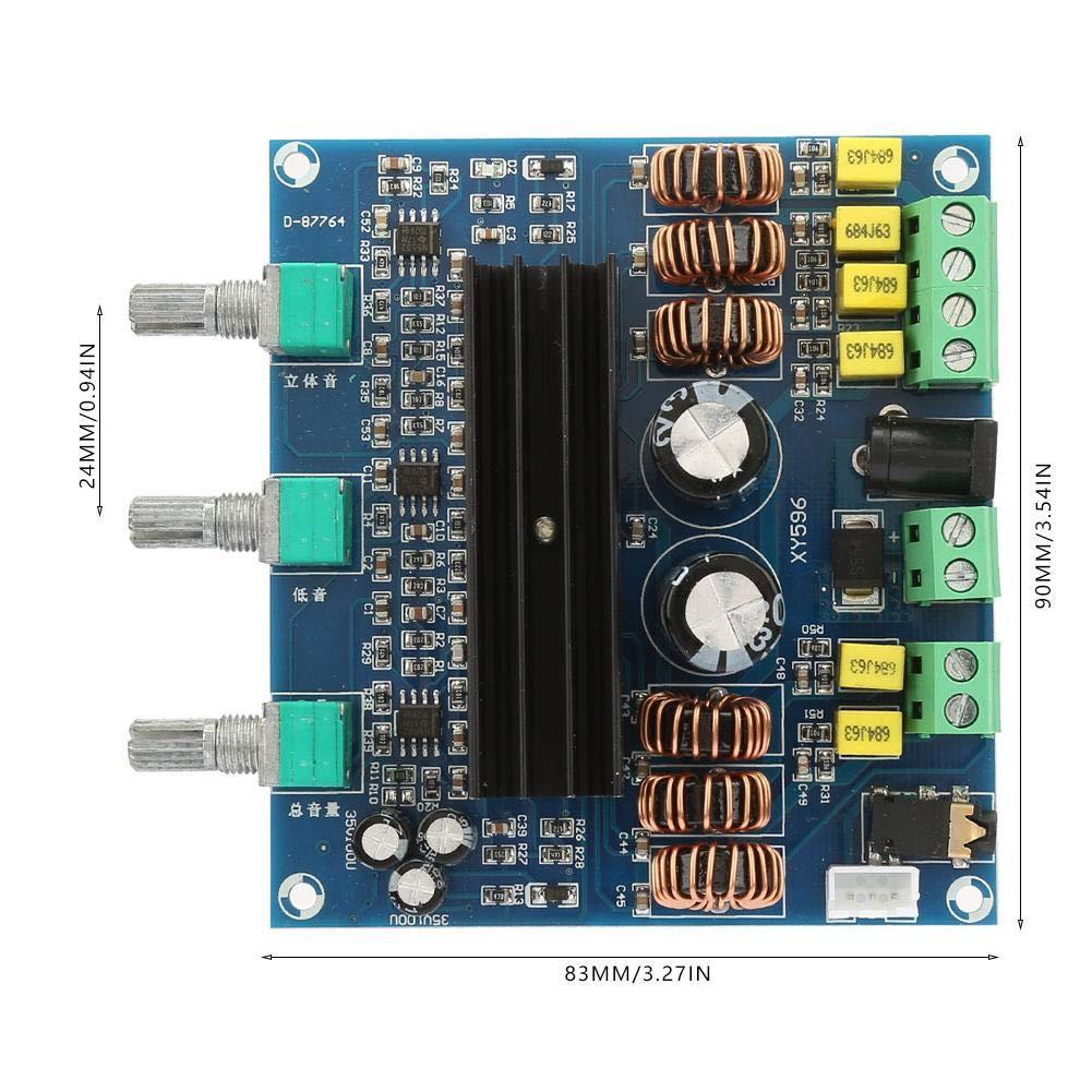 TPA3116D2 2 80W+100W 2.1 Channel Digital Stereo Subwoofer Power Amplifier Board Audio Power Amplifier
