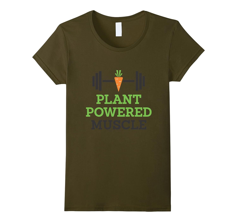 Funny Vegan Powered Muscle Workout-Awarplus