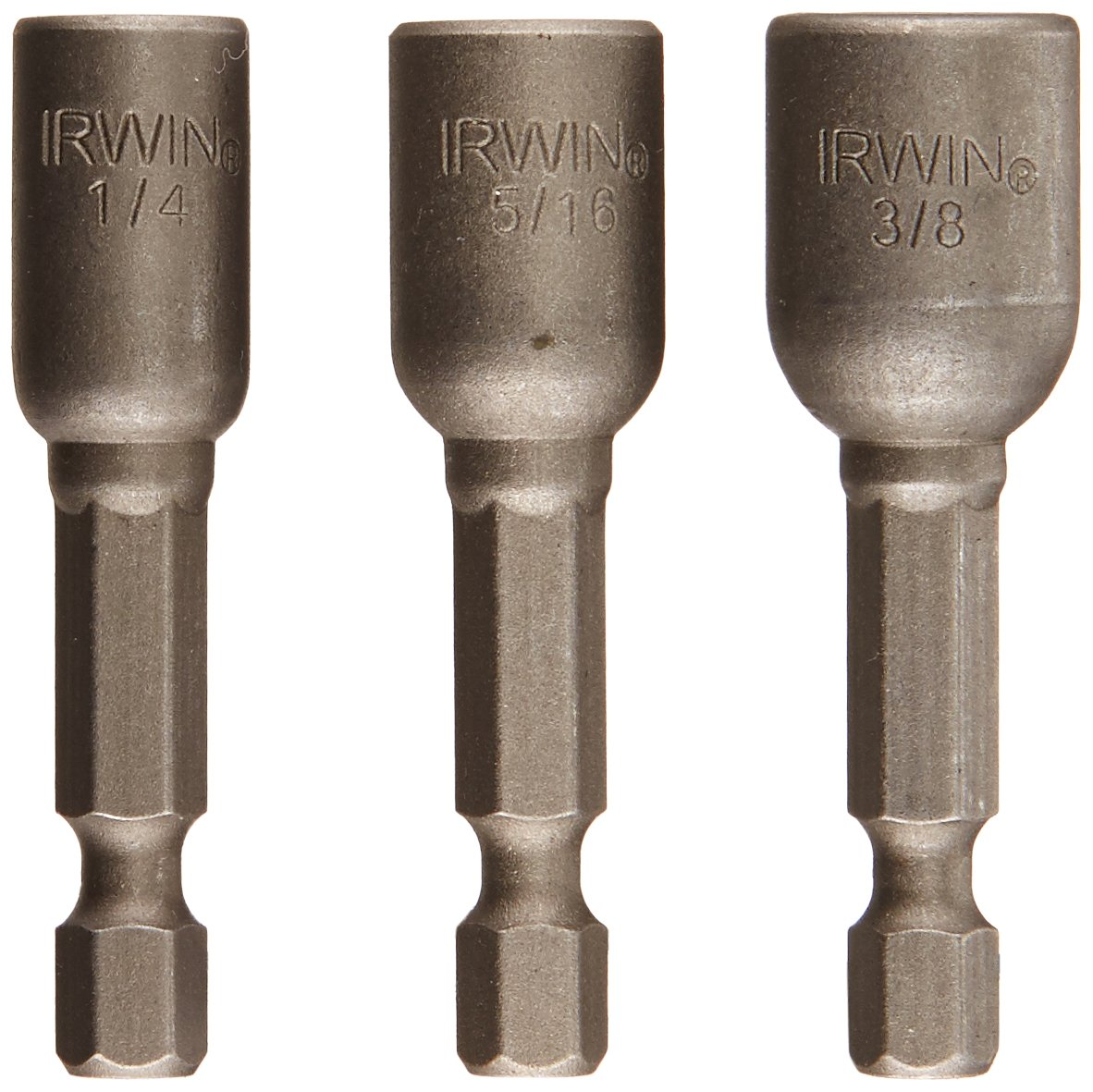 Irwin Tools 3545973C Magnetic Nutsetters 1-7/8-Inch, 3-Piece Set