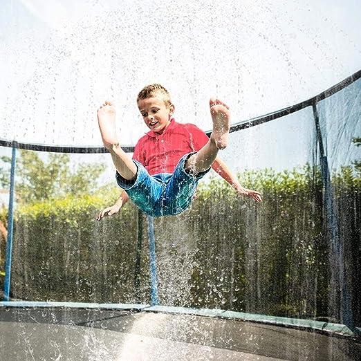 Outdoor Sprinkler Trampolin Wasserpark Sommer Kinder Sprinkler Spielzeug