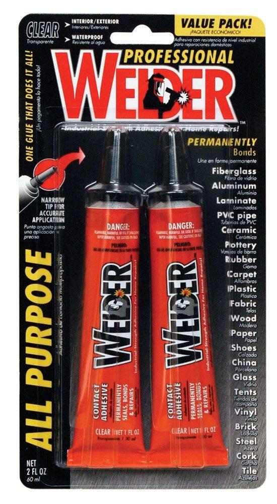 Homax 730657 1 Oz Professional Welder Adhesive 2 Count