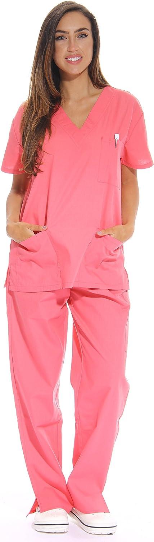 Just Love Women's Scrub Sets Six Pocket Medical Scrubs (V-Neck with Cargo Pant) 71JdG8wsIIL