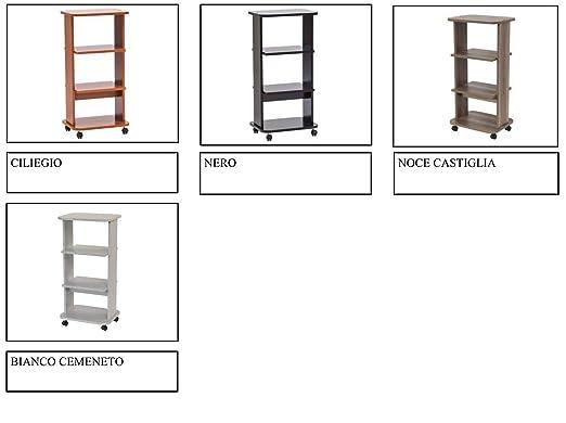 Relax e Design - Mueble Carro para TV, Impresora, Hi-Fi, 90 ...