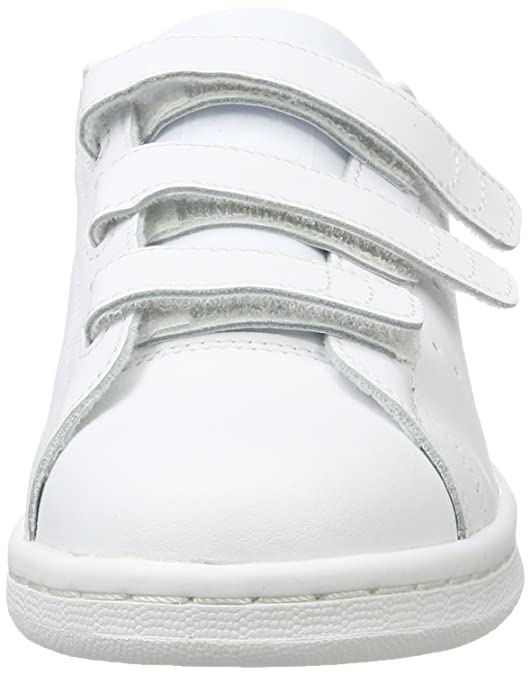 official photos b9915 b0af5 Adidas Stan Smith CF J, Sneaker Unisex-Bambini, Bianco, 35.5 EU  Amazon.it   Scarpe e borse