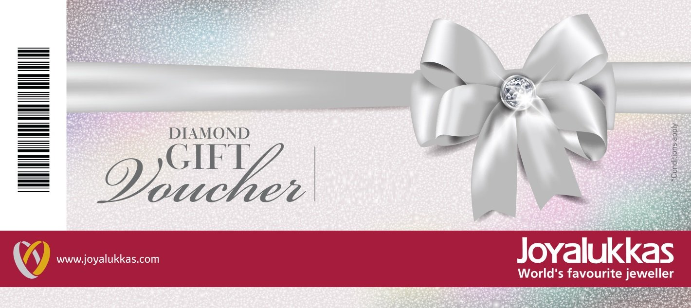 Joyalukkas Diamond Gift Voucher Rs1000 Cards Aon