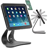 Thought Out EnCloz iPad 9.7 POS Stand Anti-Theft Security Flip Signature (iPad 9.7 Pro, 5g, iPad Air 2,1) - Black - Made in USA