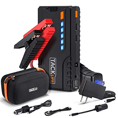 TACKLIFE T6 800A Peak 18000mAh Car Jump Starter